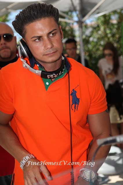 DJ Pauly D Spinning at Ditch Friday