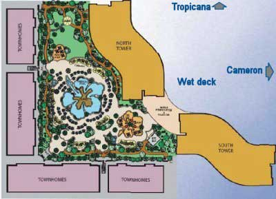 Pinnacle Las Vegas Site Map