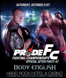 PRIDE Fighting Championships After Party
