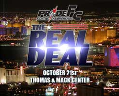 Pride Fighting Championships in Las Vegas
