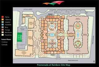 Promenada Map