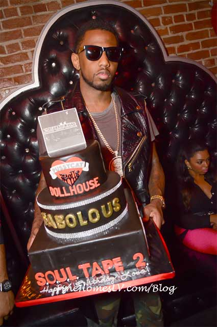 Fabolous and Birthday Cake