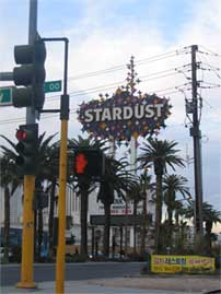 Stardust Casino Sign