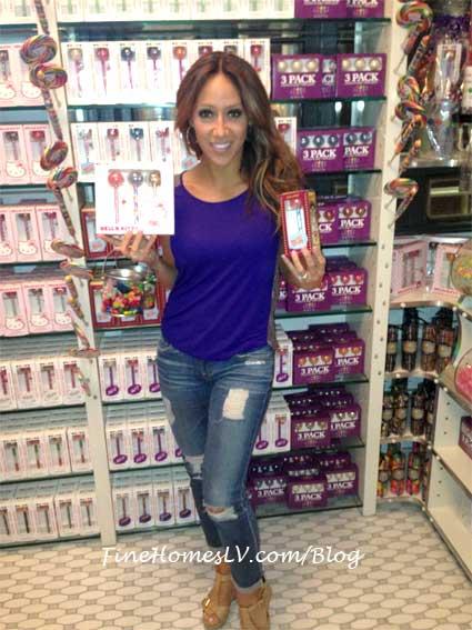 Melissa Gorga at Sugar Factory New York City