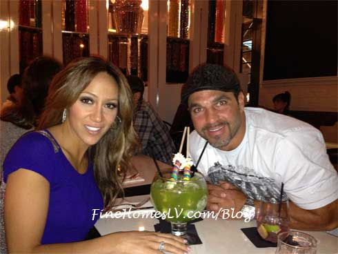 Melissa and Joe Gorga at Sugar Factory In New York City