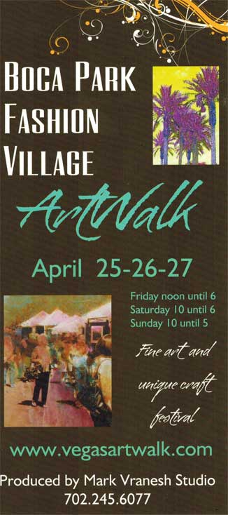 2014 Boca Park Fashion Village ArtWalk