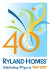 Ryland Homes 40th Anniversary