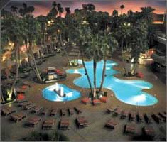 TI Las Vegas Hotel Swimming Pool