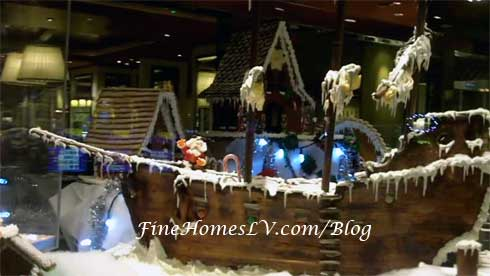 Treasure Island Gingerbread Ship