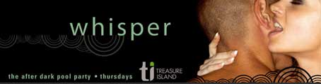 Whisper FREE TI Treasure Island Las Vegas Pool Party