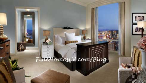 Trump Las Vegas 3-Bedroom Penthouse Bedroom