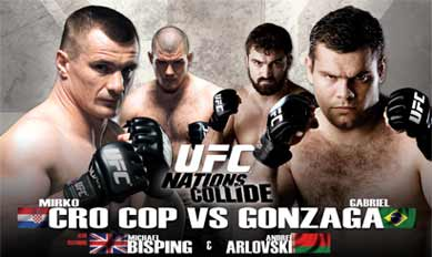 UFC 70 NATIONS COLLIDE