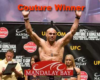 UFC 74 Winner