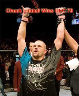 Liddell Winner UFC 79