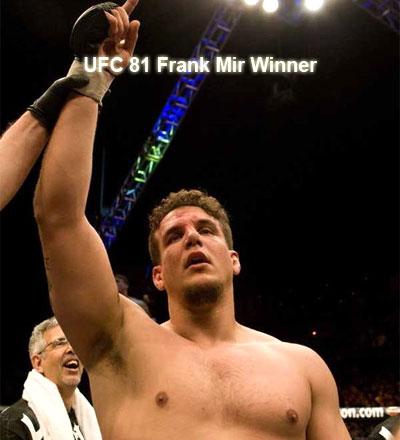 UFC 81 Winner