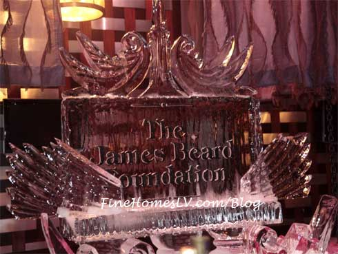 James Beard Foundation Ice Sculpture