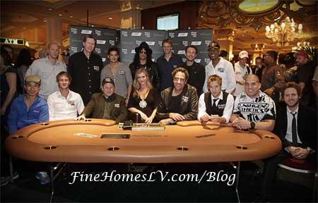 Celebrities At Venetian Poker Tournament