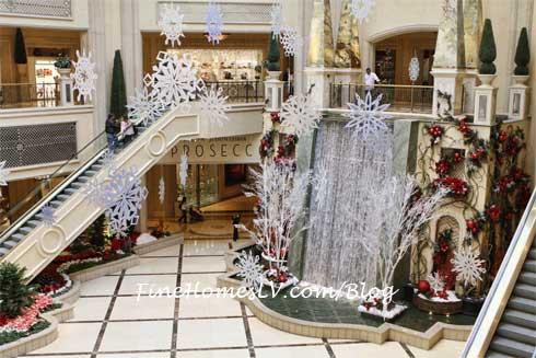 Winter Decore At The Palazzo