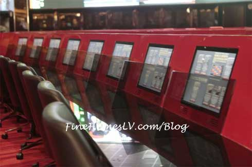 The Venetian Betting Carrels