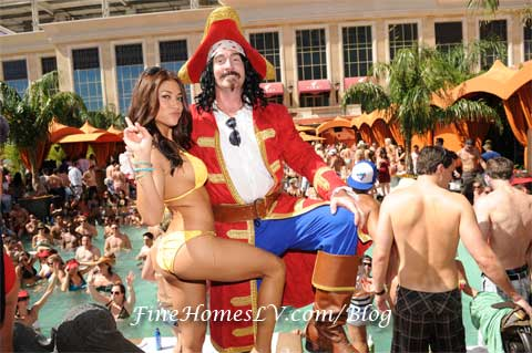 Arianny Celeste and Captain Morgan