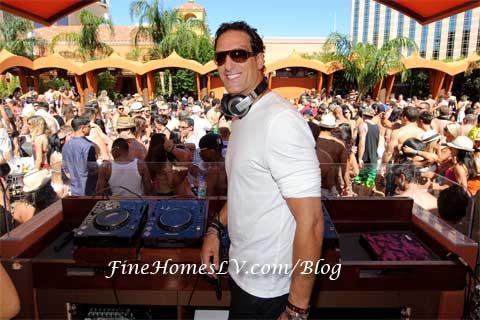 DJ Rony Seikaly at TAO Beach