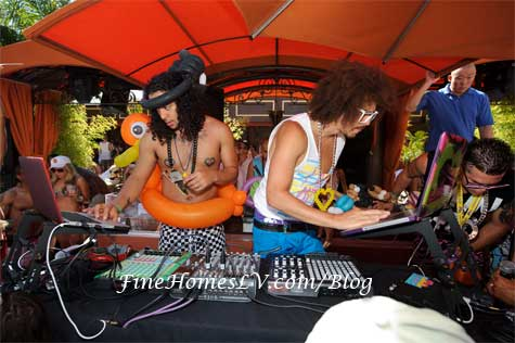 LMFAO DJs at TAO Beach