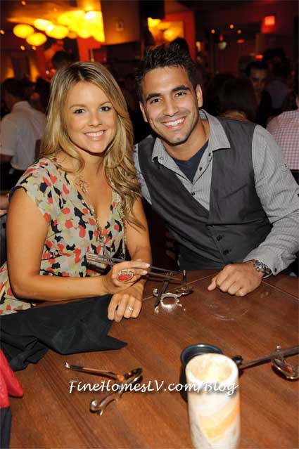 Ali Fedotowsky and Roberto Martinez