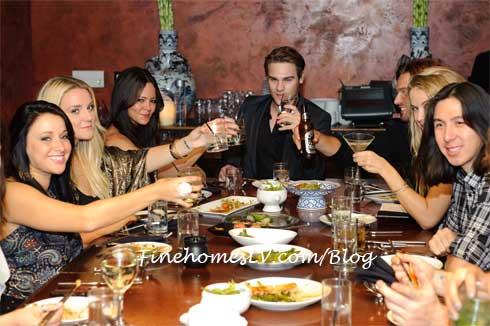 Grey Damon, Allison Melnick and Friends at TAO