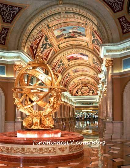 The Venetian Las Vegas Lobby