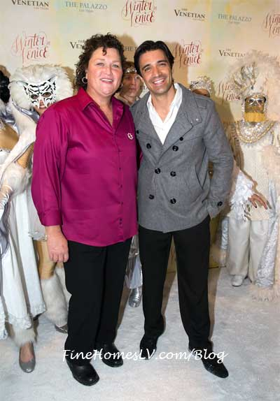Dot Marie Jones and Gilles Marini