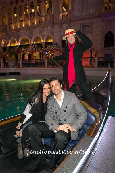 Gilles Marini and Wife