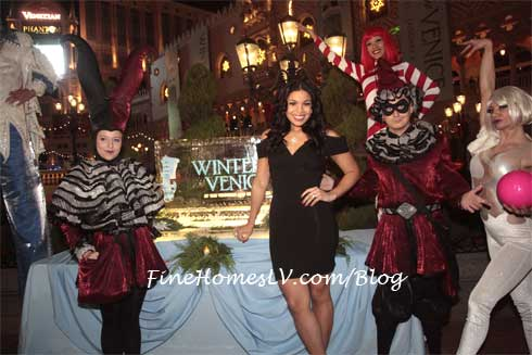 Jordin Sparks and Holiday Characters