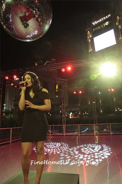 Jordin Sparks at Winter IN Venice