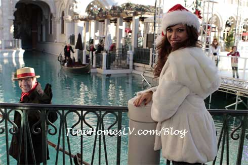 Karina Smirnoff and Gondolier