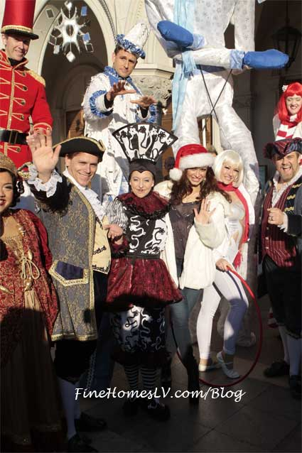 Karina Smirnoff and Winter in Venice Performers