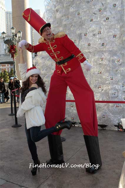 Karina Smirnoff and Toy Soldier
