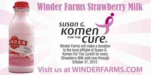 Winder Farms Strawberry Milk