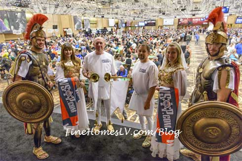 Romans at Colossus at 2015 World Series of Poker