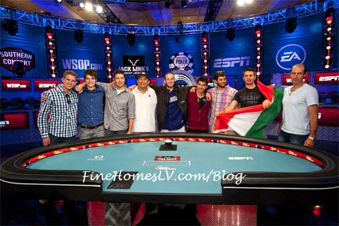 WSOP 2012 Final Table