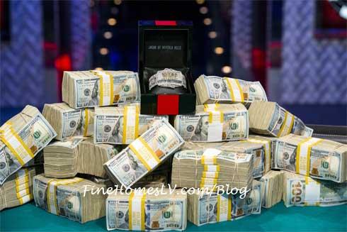 2013 WSOP Winner Bracelet and Cash