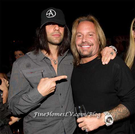 Criss Angel and Vince Neil