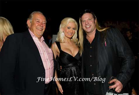 Robin Leach, Holly Madison and Michael Boychuck