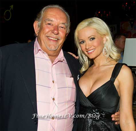 Robin Leach and Holly Madison
