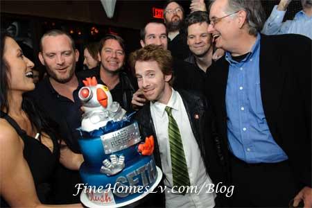 Seth Green and Birthday Cake